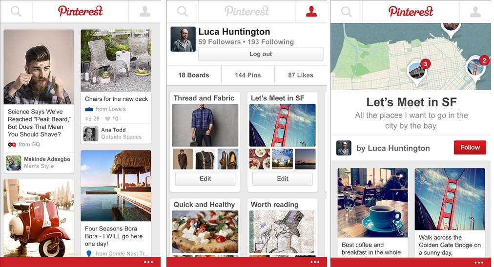 Pinterest als Beta im Windows Phone Store