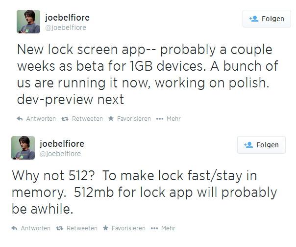 Benutzerdefinierter Sperrbildschirm (Lock Screen) App kommt demnächst für das Windows Phone