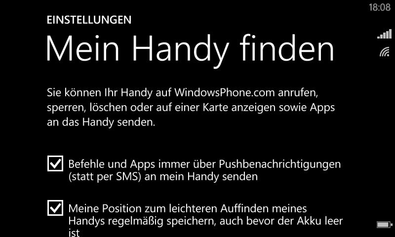 Microsoft kündigt verbesserte Funktionen zum Schutz des Windows Phone an