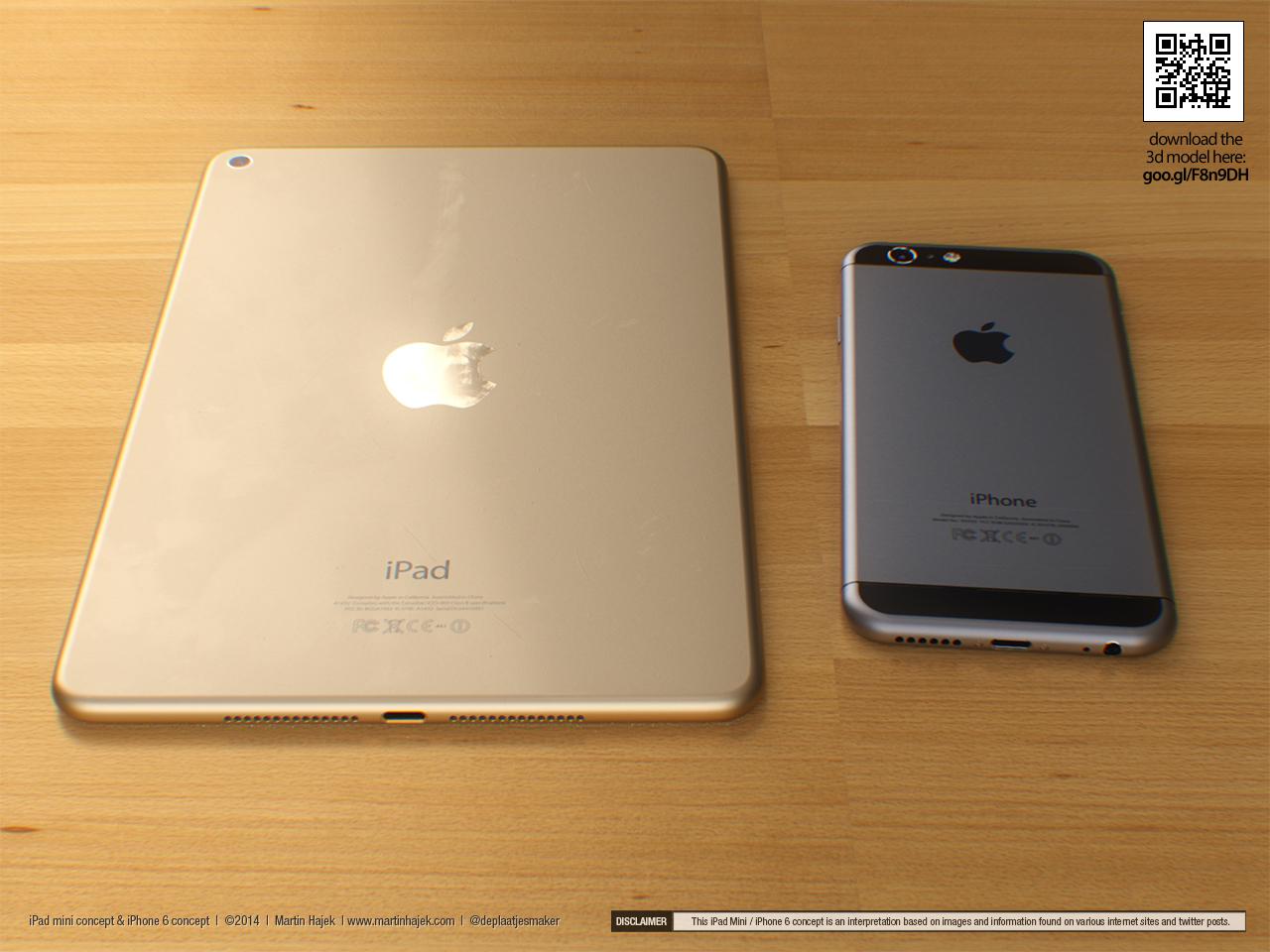 Konzept zum Apple iPad mini 3