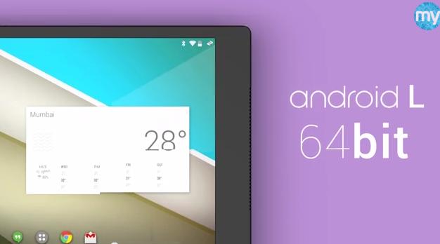 Konzept eines möglichen Nexus 8 von HTC