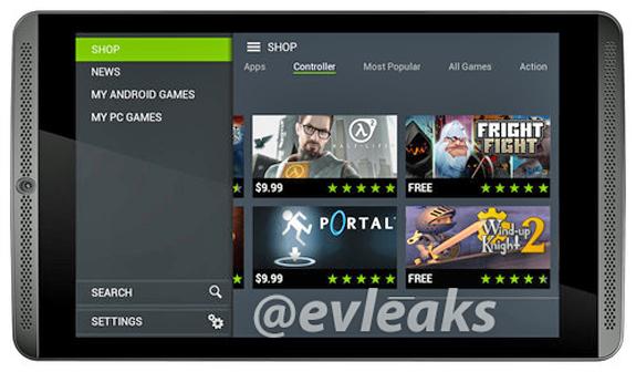 Bild vom Nvidia Shield Tablet aufgetaucht