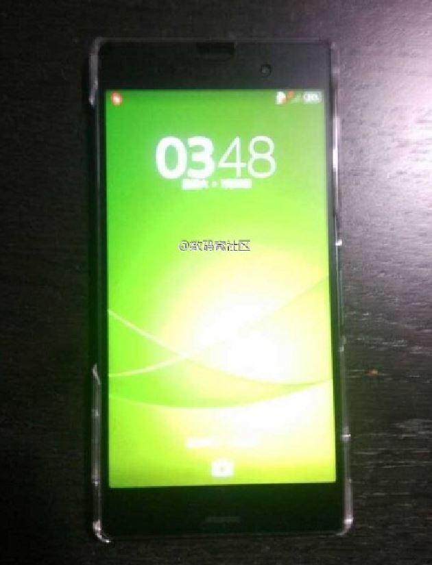Erste Bilder vom Sony Xperia Z3 Compact im Netz aufgetaucht