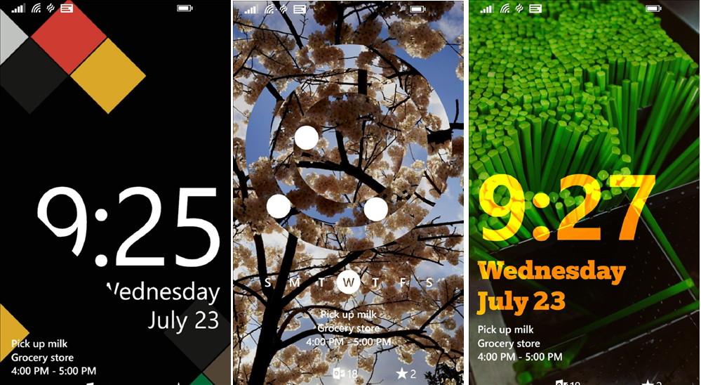 Live Lock Screen BETA für das Windows Phone steht zum Download bereit