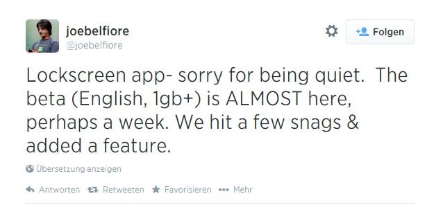 Die neue Lockscreen App für Windows Phone kommt nächste Woche als Beta