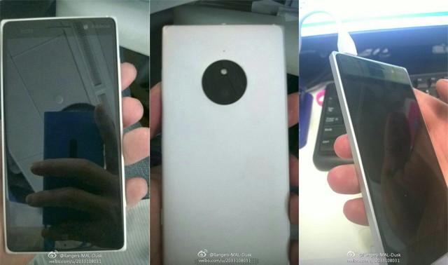 Bilder eines neuen Lumia aufgetaucht. Könnte das Lumia 830 sein.