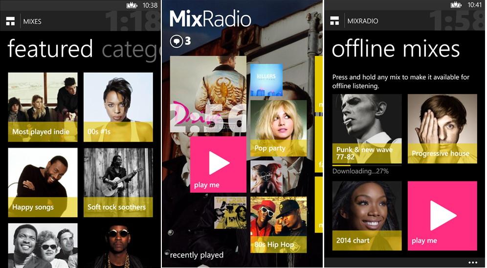 MixRadio wird auch auf anderen Plattformen erwartet