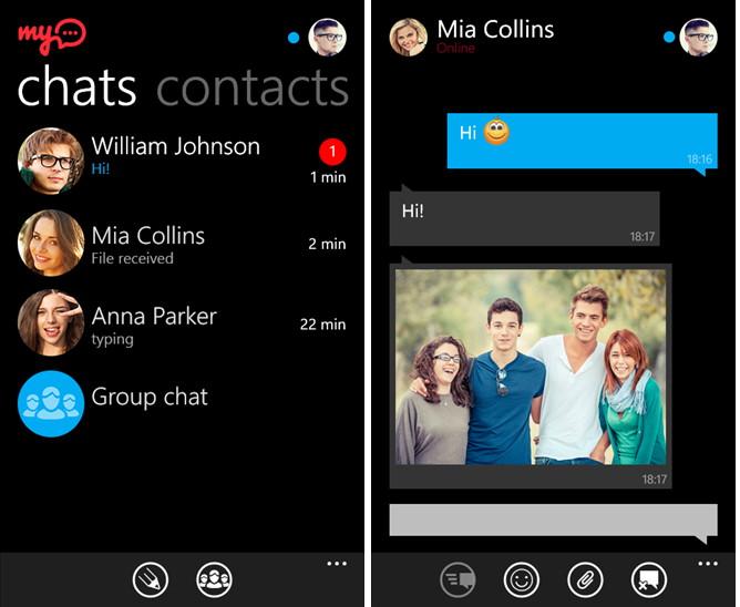 myChat steht jetzt auch im Windows Phone Store zum Download bereit