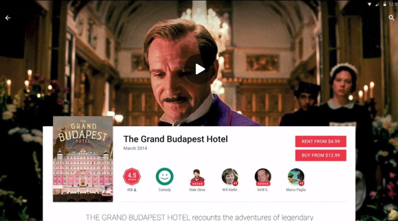 Google Play Store soll demnächst im Material Design erstrahlen