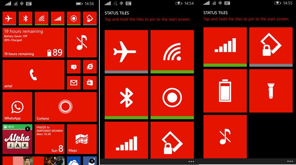 Kurz notiert: Status Tiles für das Windows Phone die nächsten Stunden kostenlos