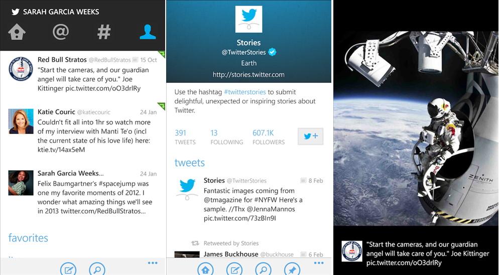 Offizielle Twitter-App für das Windows Phone hat ein Update erhalten