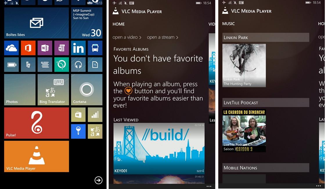 VLC als Windows Phone App – Erste Infos und Bilder