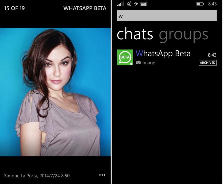 WhatsApp Beta: Die Entwicklung der Windows Phone App schreitet voran