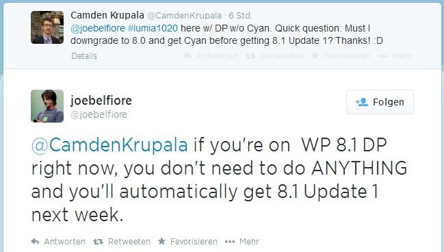 Windows Phone 8.1 Developer-Nutzer bekommen nächste Woche automatisch das Update (1)