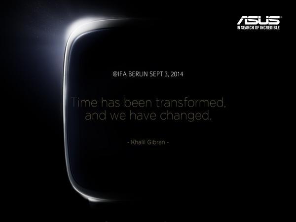 IFA 2014 – Asus teasert Smartwatch an