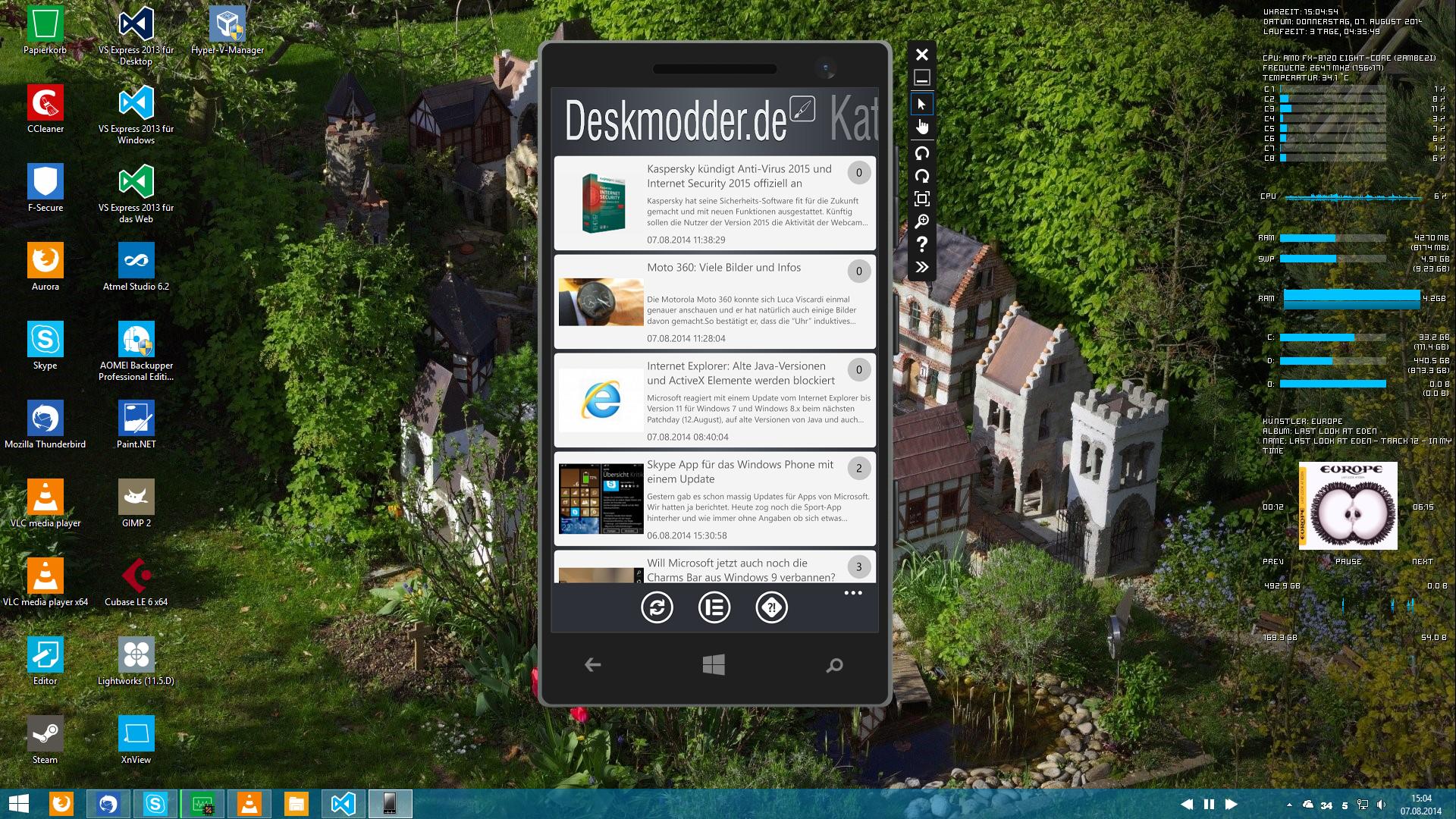 Deskmodder.de-App für Windows Phone verfügbar