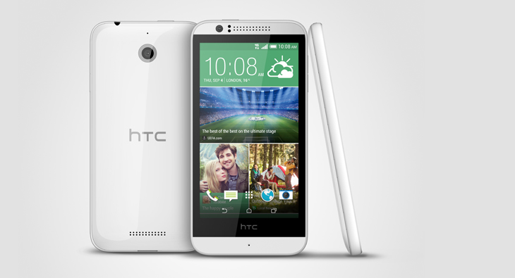 HTC stellt HTC Desire 510 mit 64-Bit CPU offiziell vor