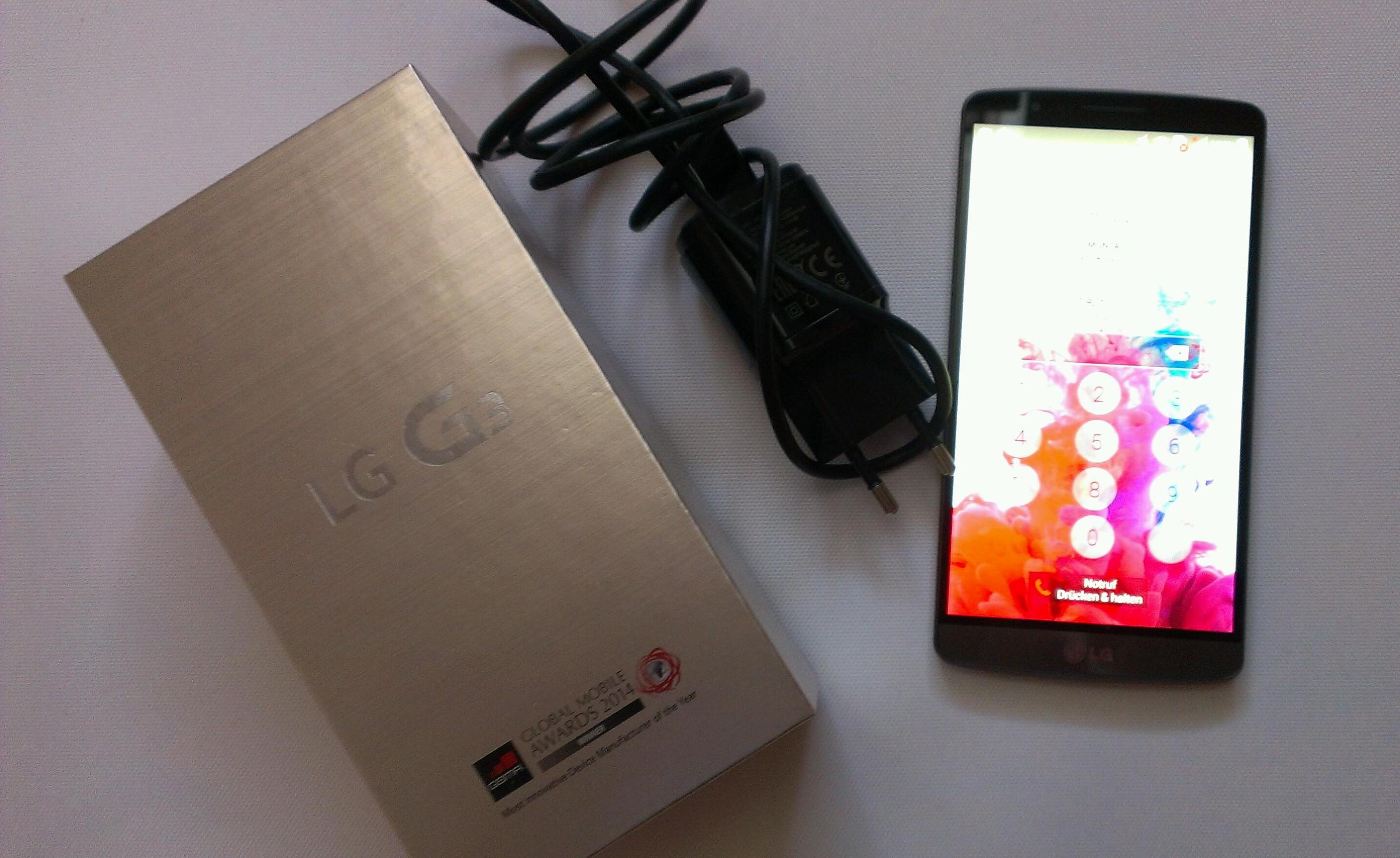 Das LG G3 im Test – Mein Allroundtalent 2014
