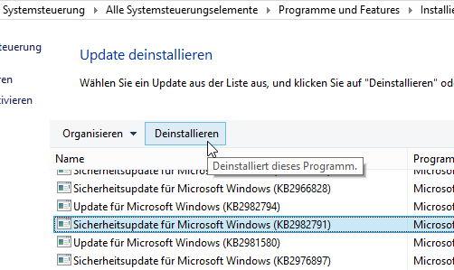 KB2975719 und KB2982791 von Microsoft zurückgezogen! [Update 2]