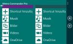 Metro Commander Pro-zwei-fenster-datei-explorer-windows-phone-app