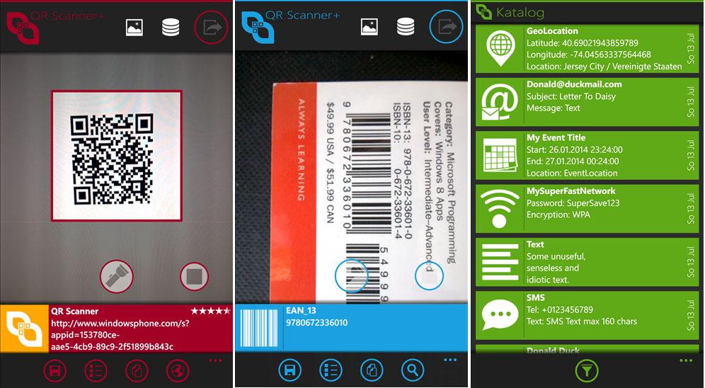 QR Scanner+ Update auf Version 2.0 – Testversion kann vollständig genutzt werden