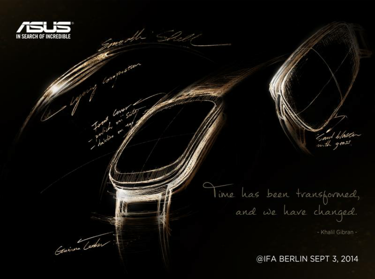 Asus mit neuem Teaser zur kommenden Smartwatch