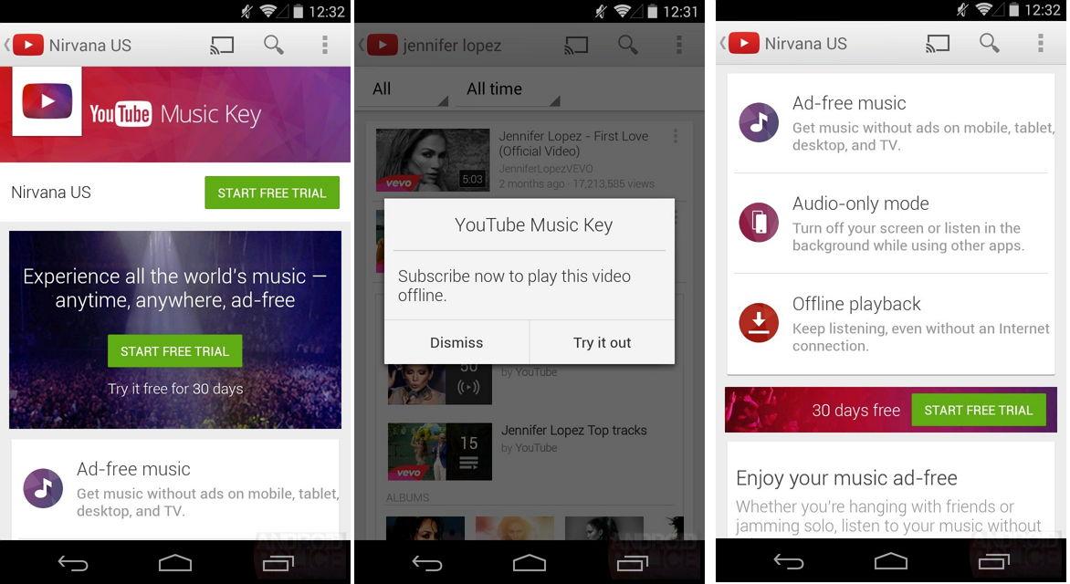 YouTube Music Key – Neuer Streaming-Abodienst von Google
