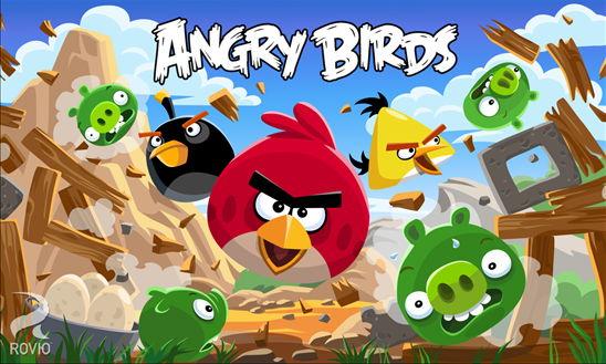 Angry Birds für das Windows Phone mit 15 neuen Leveln