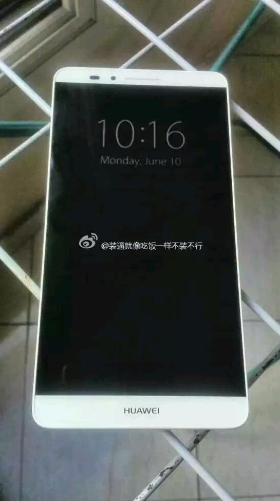 Erste Bilder vom Huawei Ascend Mate 7 im Netz aufgetaucht