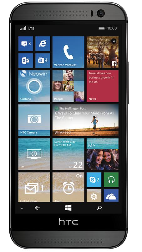 Pressebild vom kommenden HTC One M8 mit Windows Phone im Netz aufgetaucht