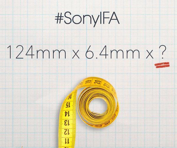 Sony mit neuem Teaser zur IFA 2014