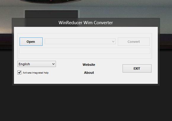 WinReducer Wim Converter: Eine install.esd in eine install.wim umwandeln