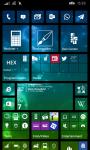 Startbildschrim mit Deskmodder App