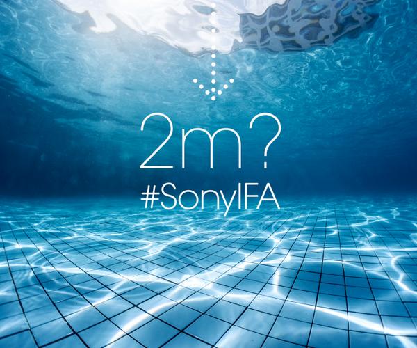 Neuer Teaser von Sony: Wie tief darf das Wasser sein ?