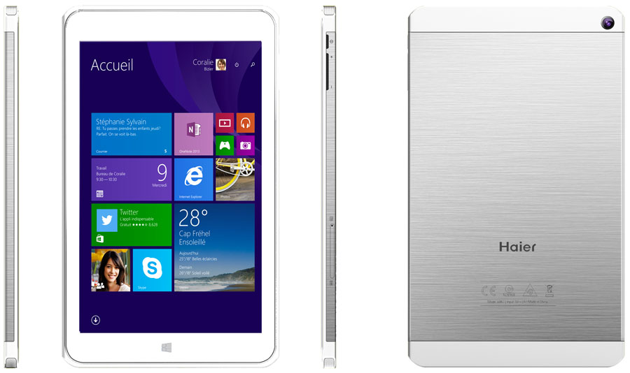 [IFA 2014] Tablets in iPhone-Optik von Haier mit Windows und Android