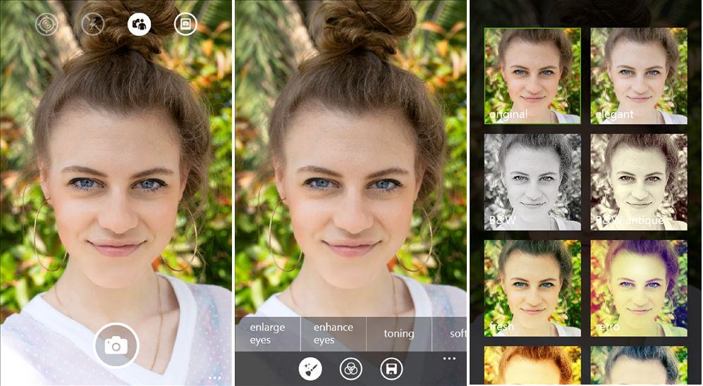 Lumia Selfie App ersetzt die Nokia Glam Me – Windows Phone