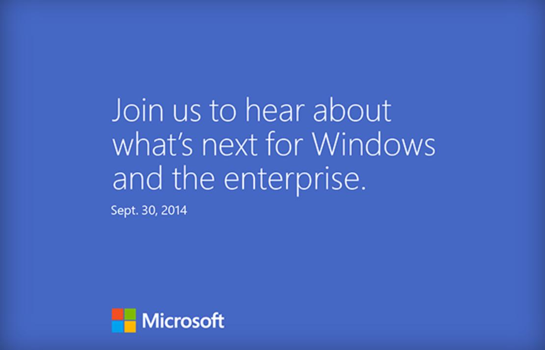 Microsoft lädt zum Windows-Event ein
