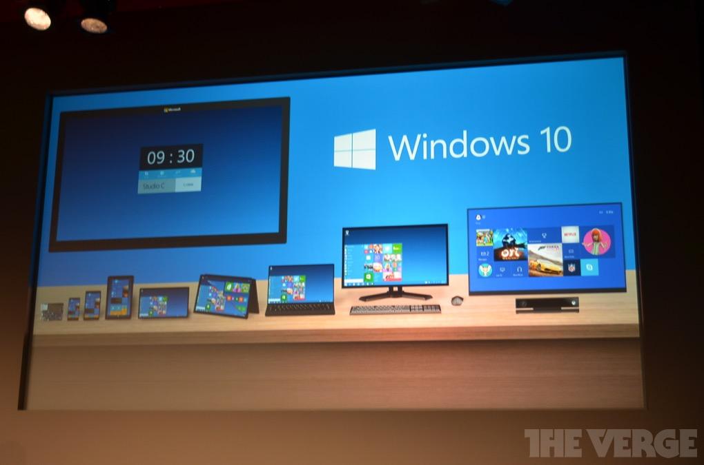 Windows 10: Ein Windows für alle Geräte und ein App-Store