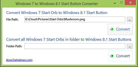 Startbutton von Windows 7 in Windows 8.1 umwandeln – konvertieren