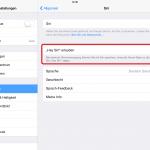 Hey Siri: Sprachbefehl in iOS 8 aktivieren bzw. deaktivieren