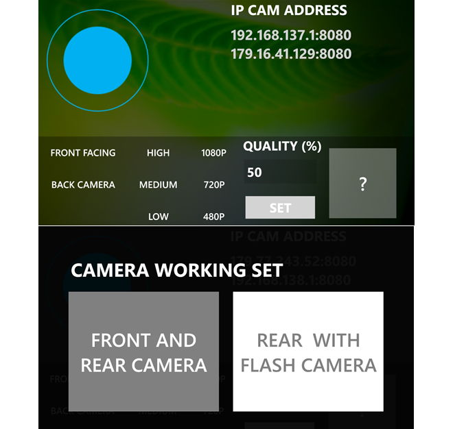 App des Tages: Windows Phone mit MY WEBCAM als Webkamera nutzen