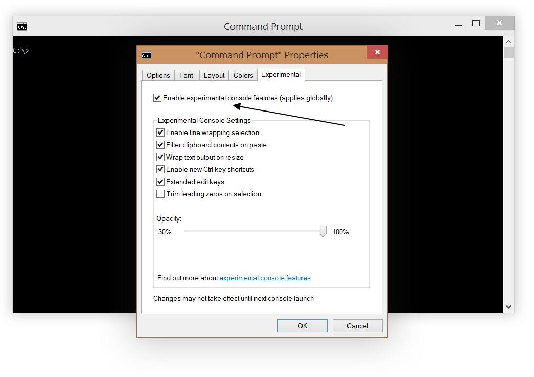 Neue experimentelle CMD – Eingabeaufforderung in Windows 10 – ja es ist amtlich