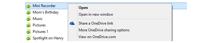 OneDrive nun mit 10 GB Datei-Limit und Freigabe-Option über den Windows Explorer