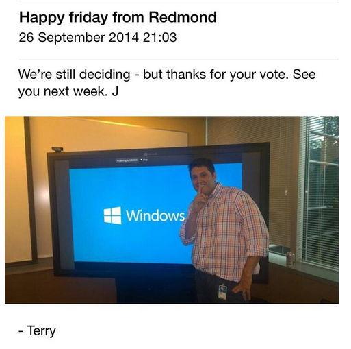 Windows 1^0, Windows oder doch ein ganz anderer Name? [Update]