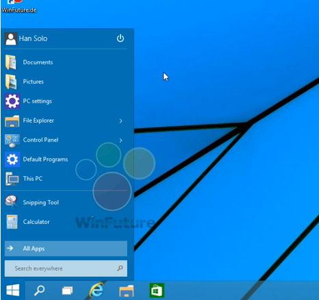 Das Windows 10 Startmenü funktioniert auch ganz ohne Kacheln (video)