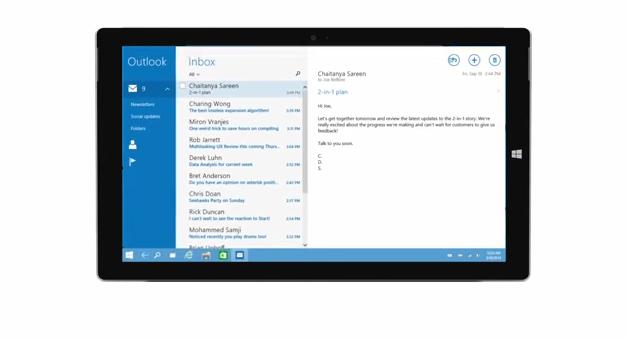 Wechsel vom Tablet-Modus und Desktop-Modus unter Windows 10 im Video