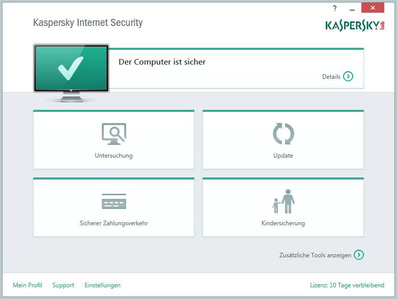 Kaspersky Internet Security & Kaspersky Anti-Virus in Version 15.0.1.x erschienen