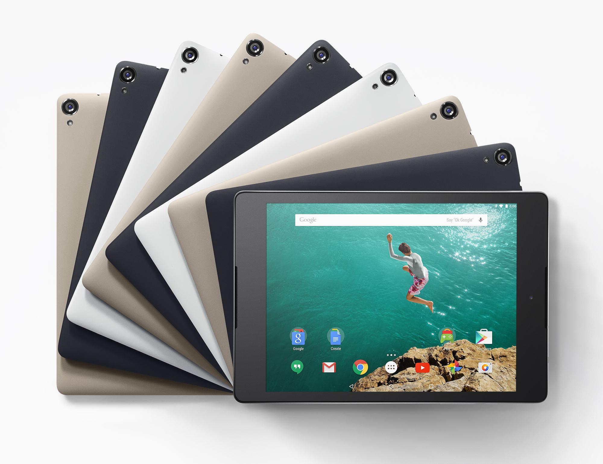 Nexus 9 – Google stellt sein neues Tablet offiziell vor
