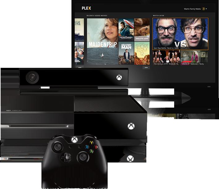 Plex nun auch für Xbox One verfügbar