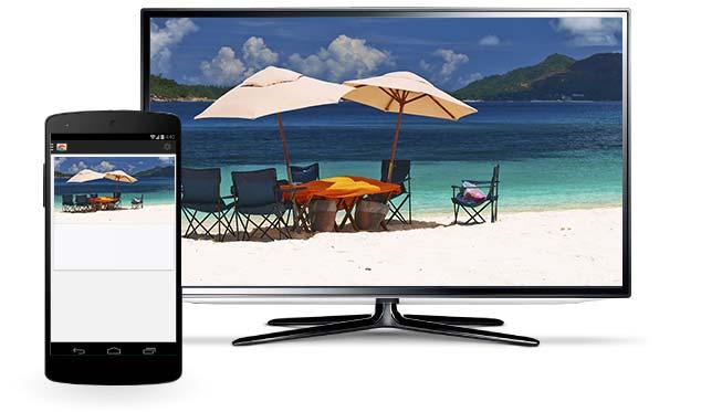 Chromecast unterstützt nun personalisierte Bilder als TV-Startscreen